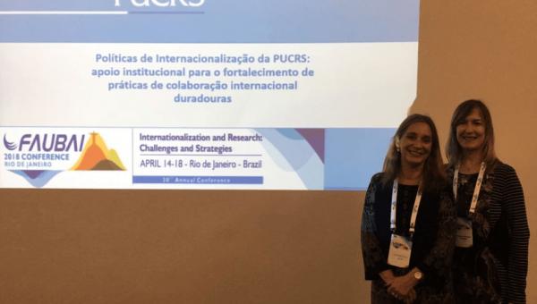 Universidade apresenta boas práticas na Faubai Conference