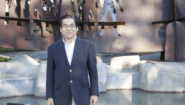 Former mobility student from Japan visits PUCRS after 40 years