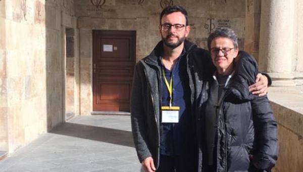 Representatives of PUCRS pay homage to Nélida Piñon