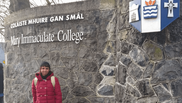 English major student receives scholarship to study in Ireland