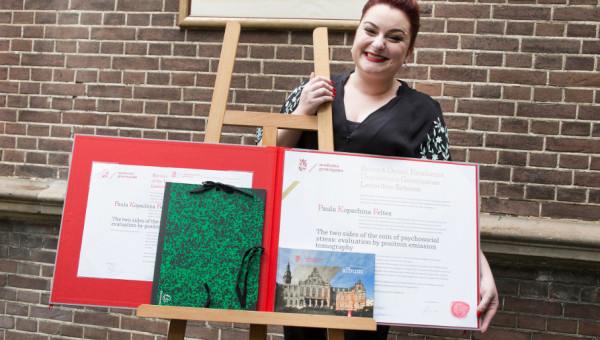 Student awarded Ph.D. at PUCRS and at University of Groningen