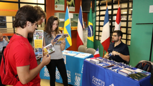 Students learn more about studying in Europe