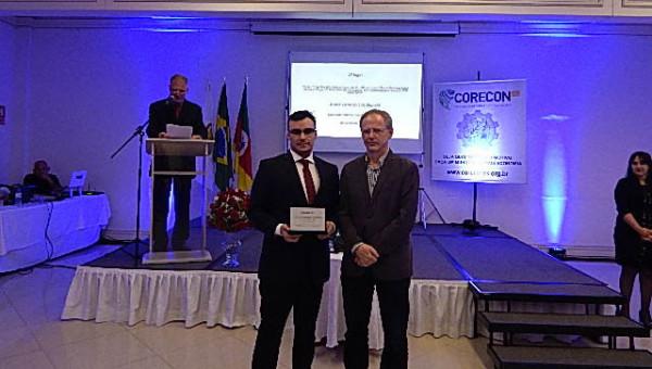 Aluno da Escola de Negócios conquista 32º Prêmio Corecon