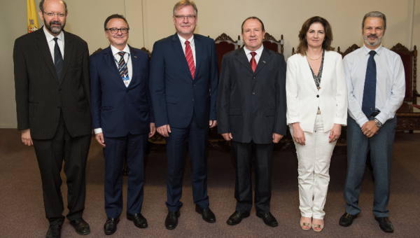 German Consul Stefan Traumann visits PUCRS