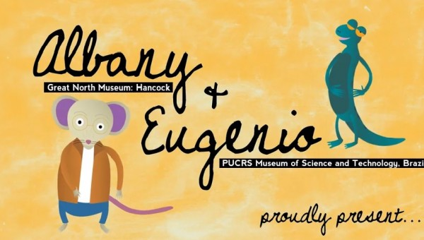 MCT´s and the Great North Museum´s mascots present an educational video on fossils