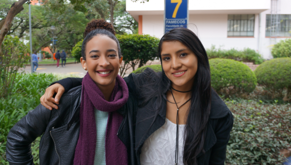 Exchange students join discussion on the future of Public Relations