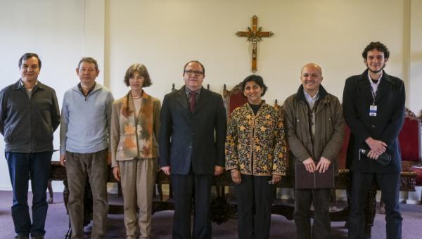 President of International Sociological Association visits PUCRS