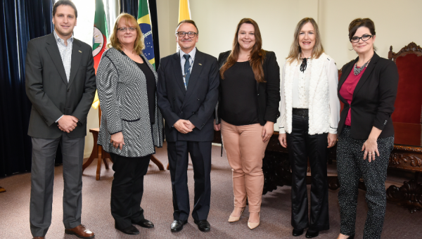 Main Officer of US Consulate in Porto Alegre visits PUCRS