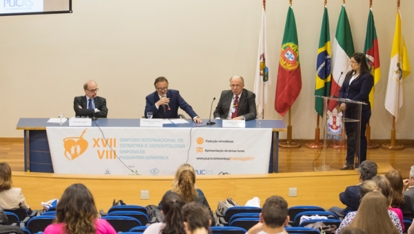 Italian and Portuguese specialists discuss aging and psychiatry