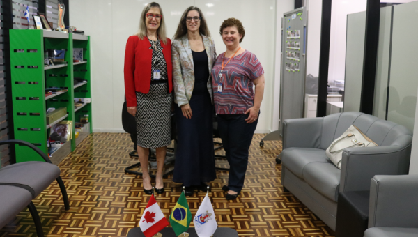 PUCRS opens its doors to the Provost of Concordia University of Edmonton