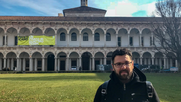 PUCRS professor works on post-doc research at Milan