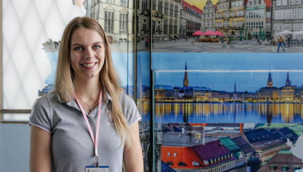 German student shares life experiences at PUCRS