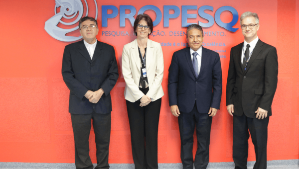 President and Vice President of Universidad Católica de El Salvador pay PUCRS a visit
