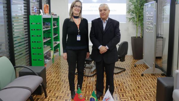 Instituto Universitário de Lisboa pays PUCRS a visit