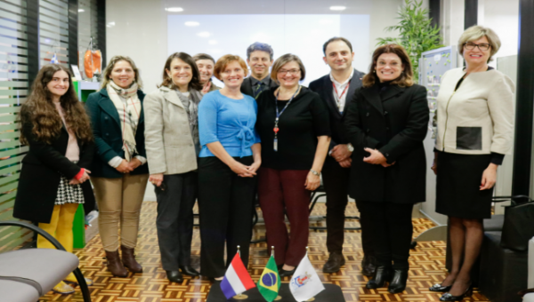 Graduate student from University of Tilburg joins conference at PUCRS