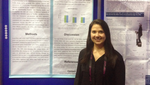 Graduate student presents paper in Ireland
