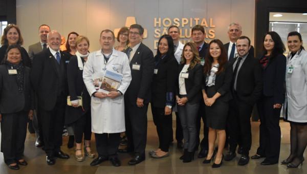 Representatives of US hospitals visit São Lucas Hospital