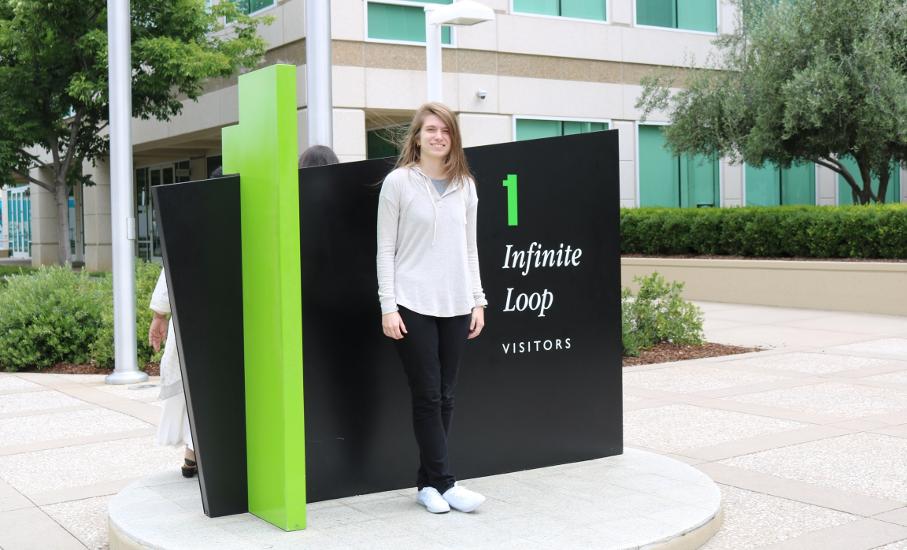 Barbara Kudiess at Apple at WWDC