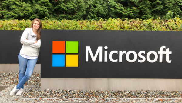 Computer Science trainee hired by Microsoft