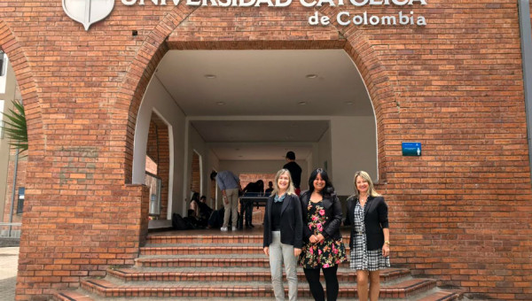International cooperation between Colombia and PUCRS at a glance