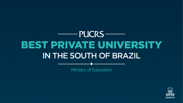 PUCRS is best private university in South of Brazil according to Ministry of Education