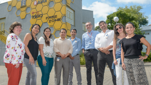 Managers of Latin American environments of innovation have immersion at Tecnopuc