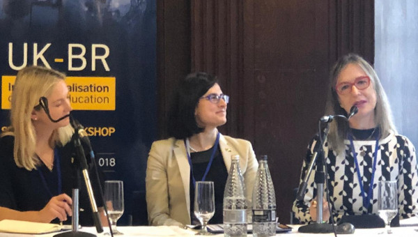 PUCRS presents internationalization practices in London