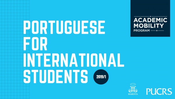 PUCRS promotes Portuguese for International Students at no charge for mobility students