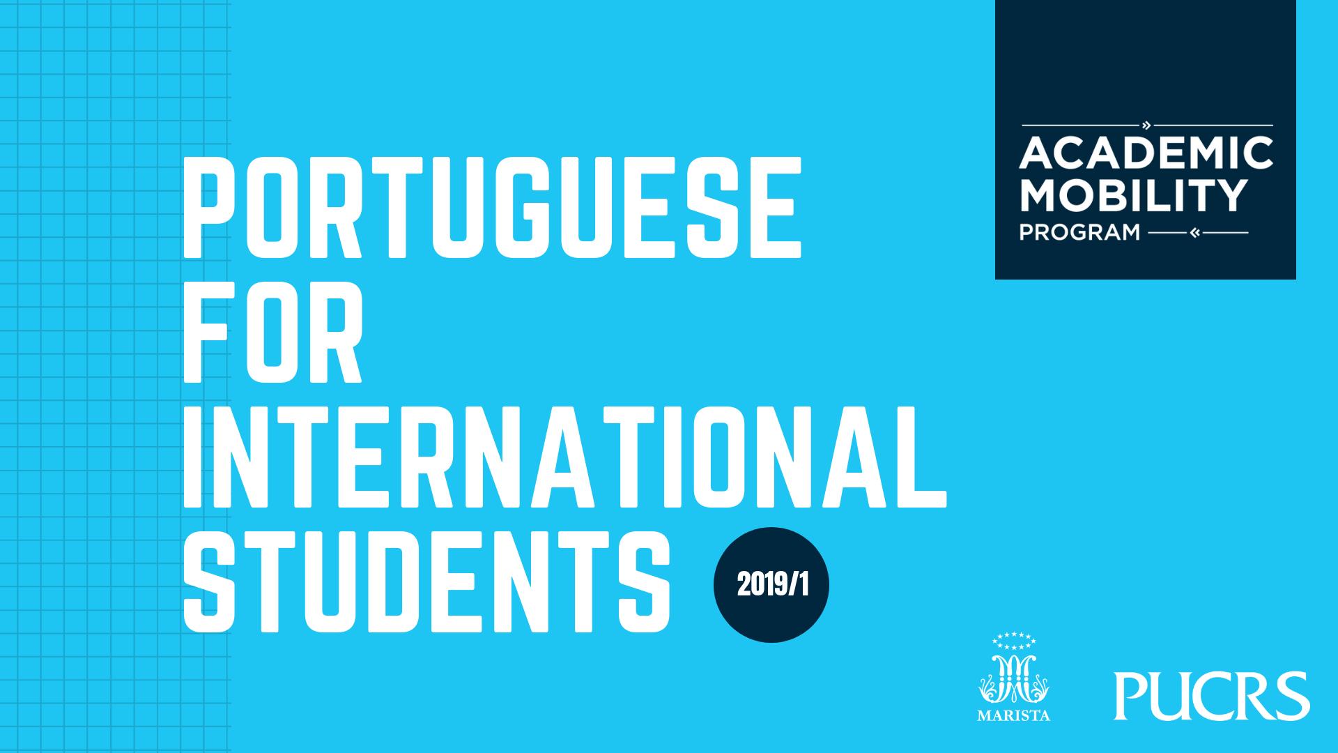 Portuguese for International Students_Divulgação