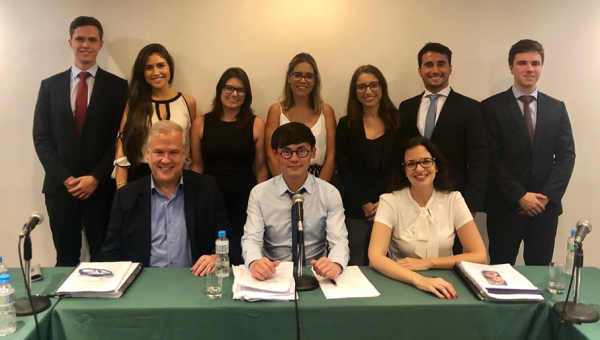 PUCRS' Arbitration team wins International Law competition