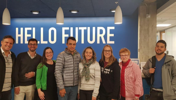 Business School students visit the Silicon Valley
