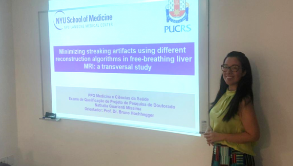 PUCRS' HSL doctor doing doctoral research internship in the USA