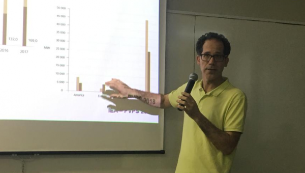 Director of Solar Energy Institute from Spain lectures at PUCRS