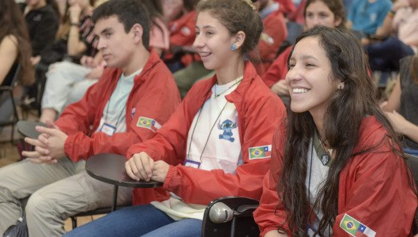 High School students from Chile take part in activities at PUCRS