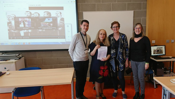 Ireland mission brings PUCRS closer to Mary Immaculate College