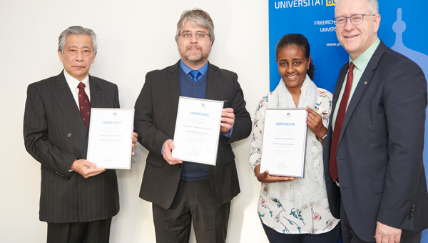 PUCRS professor awarded title of ambassador at University of Bonn