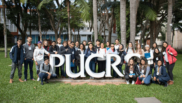 PUCRS opens doors to 46 international mobility students this semester