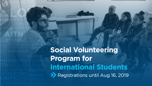 Registrations open for Social Volunteer Work for international students