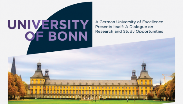 Session on degree programs and research at University of Bonn