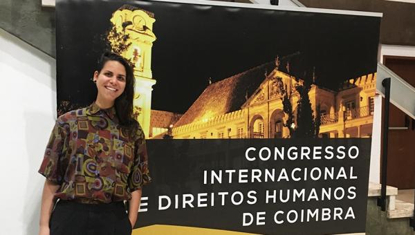 Law School student presents paper at Universidade de Coimbra, Portugal