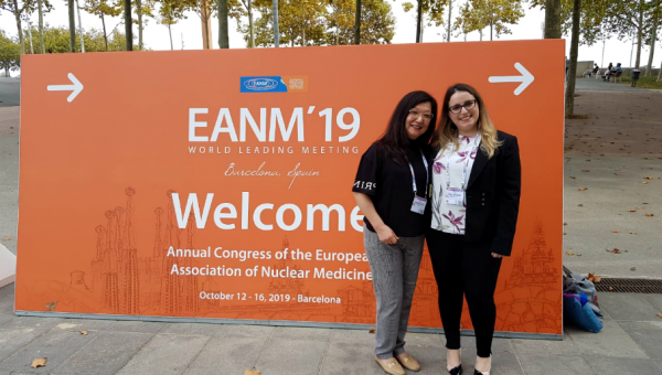 Doctoral student presents research findings at the Congress of the European Association of Nuclear Medicine