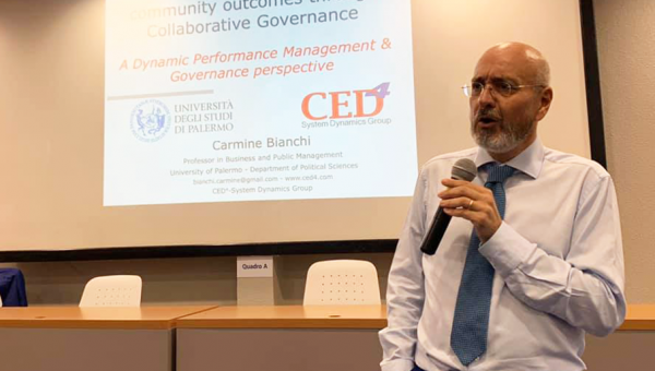 Visiting professor from Italy takes part in Business School activities