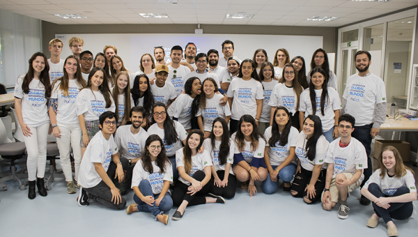 Farewell event for international students at Living 360º