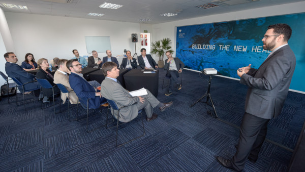 Netherlands delegation discusses use of data in health sciences