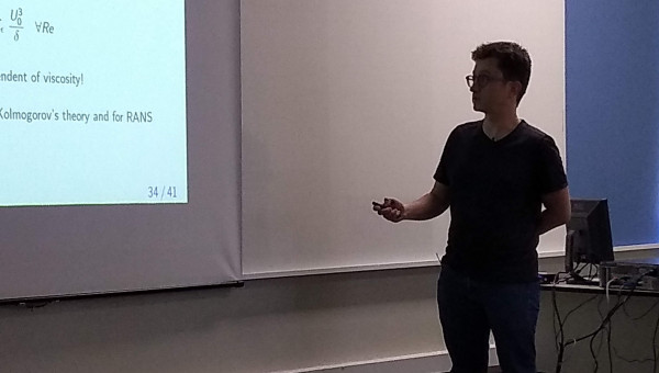 Visiting Professor Damien Biau takes part in in seminars and short course on PUCRS-PrInt