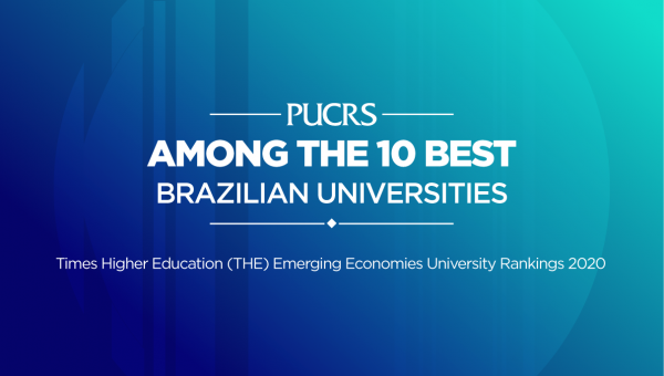 PUCRS among the top 10 institutions in Brazil